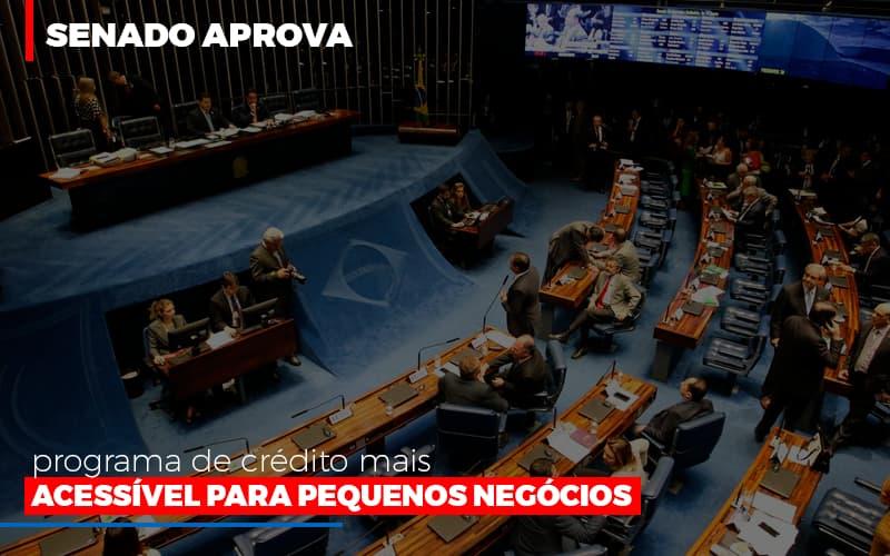 Senado Aprova Programa De Credito Mais Acessivel Para Pequenos Negocios Notícias E Artigos Contábeis - Contabilidade na Barra da Tijuca