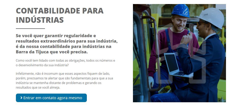 Contabilidade Para Industria  - Contabilidade na Barra da Tijuca