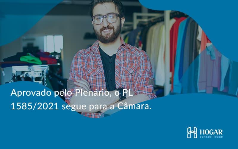 Aprovado Pleno Plenario O Pl 15852021 Segue Para A Camara Hogar - Contabilidade na Barra da Tijuca
